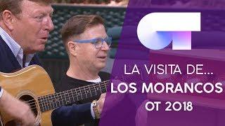 LOS MORANCOS visitan la ACADEMIA | OT 2018