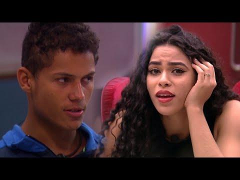 """BBB 19""""Danrley faz triste desabafo para Elana e acha que estará no*PAREDÃO*de hoje JOGOU MAL?"""