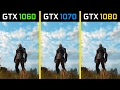 The Witcher 3: Wild Hunt GTX 1060 vs. GTX 1070 vs. GTX 1080