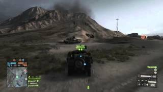 C4 Jeep v  Tank + Heli BF4 gameplay