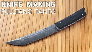 Knife Making - Fulltang Tanto