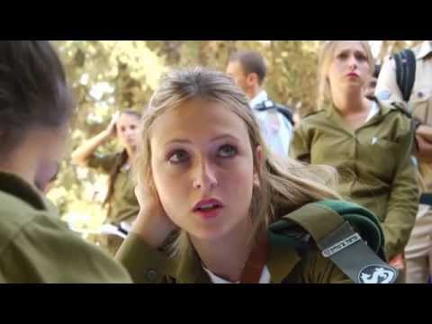 Israeli army immigrant show (Israeli soldiers dancing IDF girls women dance female soldiers Israel)
