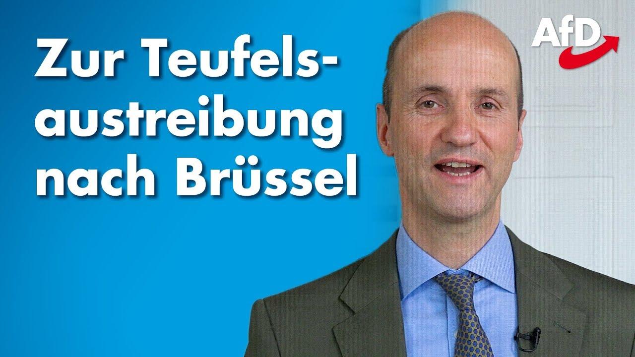 Nicolaus Fest zu den ersten Tagen in Brüssel - Auf zur Teufelsaustreibung