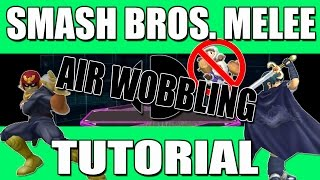 Melee Tutorial | Falcon Combos - Air Wobbling Marth