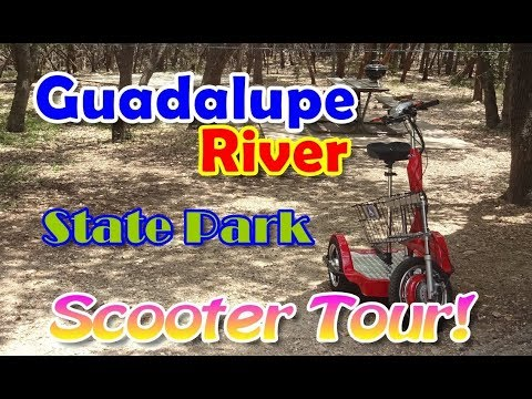 RV Camping At Guadalupe River State Park! [Official FPV Tour]