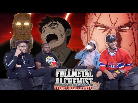 "Full Metal Alchemist Brotherhood Episode 49 ""Filial Affection"" REACTION/REVIEW"