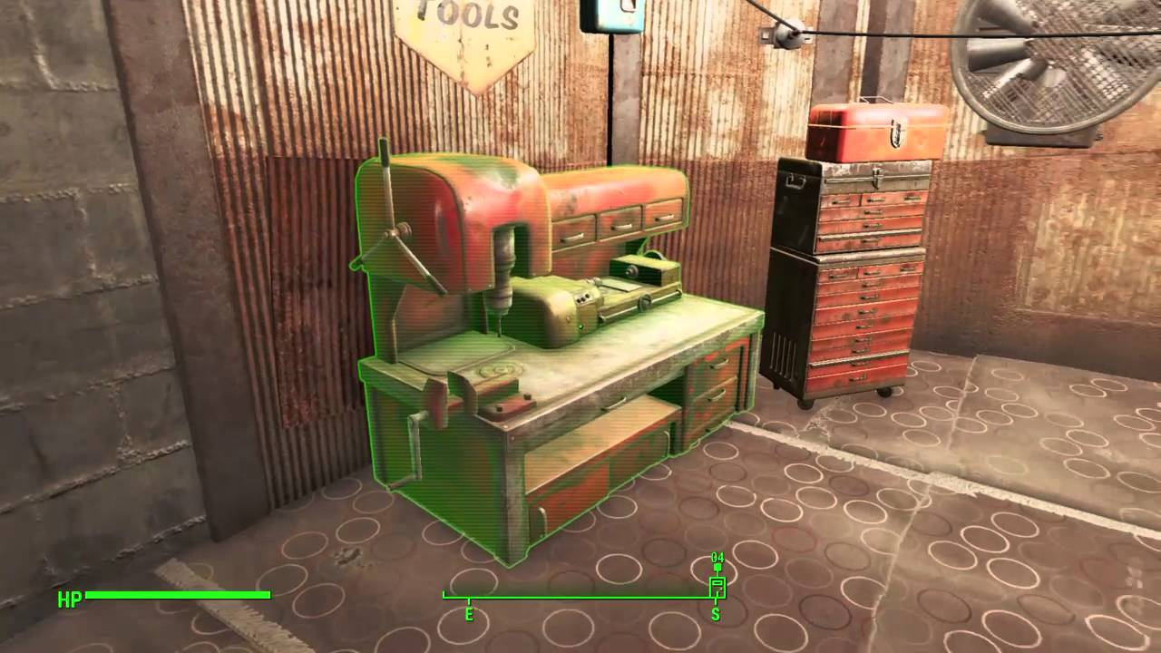 Fallout 4 post apocalyptic interior decor youtube for Fallout 4 interior decorating