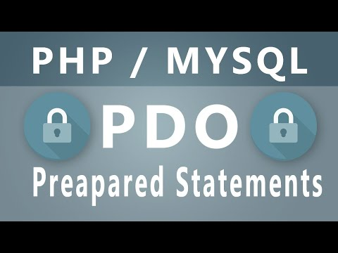 PHP - PDO Prepared Statements
