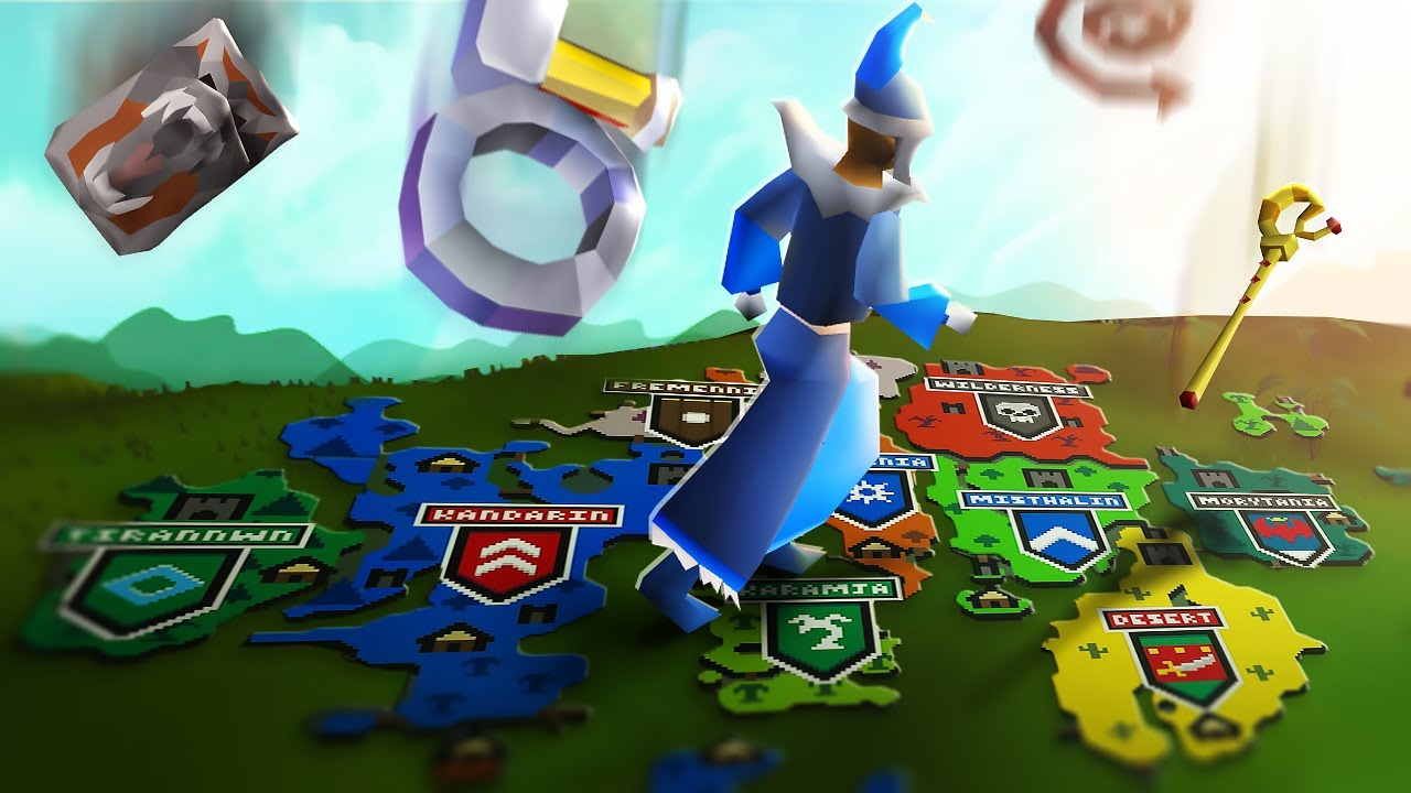 I Locked Players Into 10 Regions of RuneScape To See Who Could Make the Most Money From 0 GP
