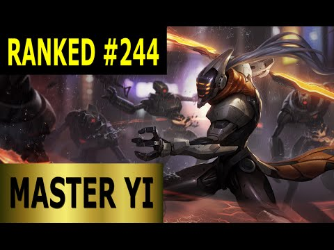 Master Yi Jungle - Full League of Legends Gameplay [German] Let's Play LoL - Ranked #244
