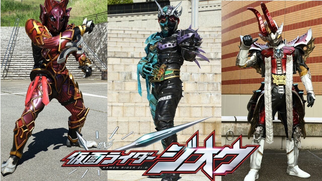 kamen rider zi o - new another rider double and den o - YouTube