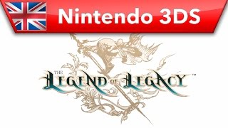 The Legend of Legacy - Trailer (Nintendo 3DS)