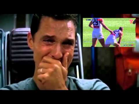 Matthew Mcconaughey's reaction to the opening quarter of the derby
