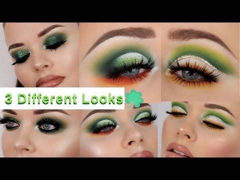 Top Three St Patricks Day Makeup Tutorials