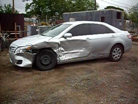 2010 Toyota Camry Accident Youtube