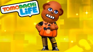 Tomodachi Life 3DS New Halloween Pumpkin Suit SpotPass Item Gameplay Walkthrough PART 36 Nintendo