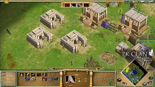 Age of Mythology: 3v3 on Highland with Live Game play Commentary! | Post Game included