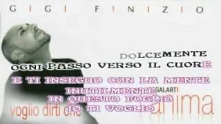 Gigi Finizio  Voglio dirti che karaoke con testo sincronizzato