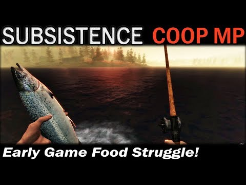 Early Game Food Struggle! | Subsistence CO-OP Multiplayer Gameplay | EP 2