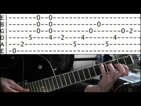 Guitar Lessons Online Black Sabbath Planet Caravan Tab Youtube