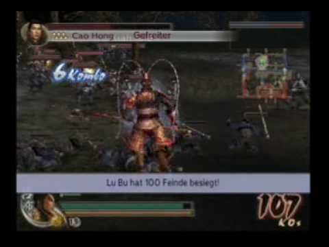 Dynasty Warriors 5 XL Legend Mode Fight for Pu Yang Castle Part 1