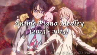 Anime piano medley - shingeki no kimi no uso taizai (2013 - 2015) (zacky the pianist ver.)
