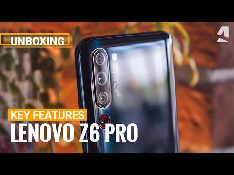 Lenovo Z6 Pro Key Features & Unboxing