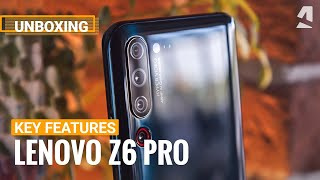Lenovo Z6 Pro Key Features & Unboxing