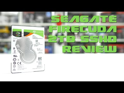 #0144 - Seagate FireCuda 2TB SSHD Review + Real World Tests