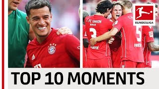 Coutinho's Debut, Union Berlin's Emotional Start & Records Galore - Top 10 Moments August