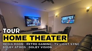 Here is a walkthrough of my Media Room and all of the electronics and retro video game consoles inside of it. All my products are in the description, some may ...