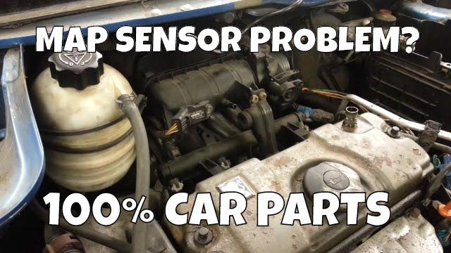 100 V Motor Wiring Diagram How To Change Replace Map Sensor Peugeot 206 0261230043