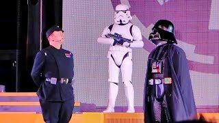 Imperial March With Darth Vader At Star Wars Galactic Nights Walt Disney World