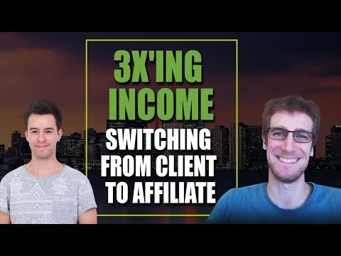 Interview: Tom de Spiegelaere on 3x'ing Income by Switching from Client to Affiliate