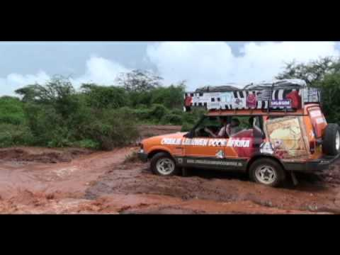 Oranjeleeuwen door Afrika Road to Hell