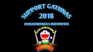 Support Gathnas Doraemoners indonesia regional Jakarta (meet and greet dubber doraemon DKK