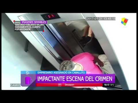 VIDEO: Impactante reconstrucción en tiempo real del crimen del empresario español