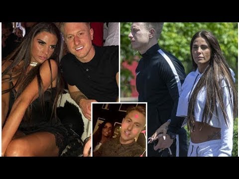 Katie Price pictured holding hands with new love interest Kris Boyson after spending romantic 40t...