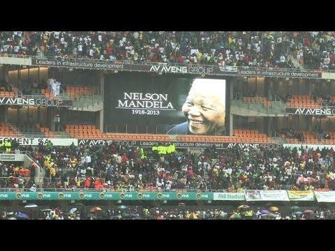Afrique du Sud: hommage planétaire à Nelson Mandela