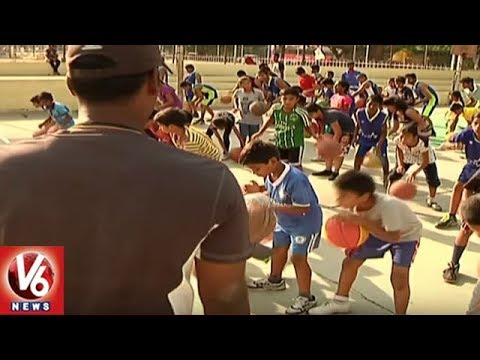 Sports Authority Of Telangana To Launch Annual Summer Camp From April 15th | Hyderabad | V6 News