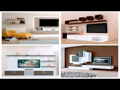 stylis-20-tv-wall-panelling-design-ideas-2020-|-tv-cabinet-design-|-hanging-tv-unit-design