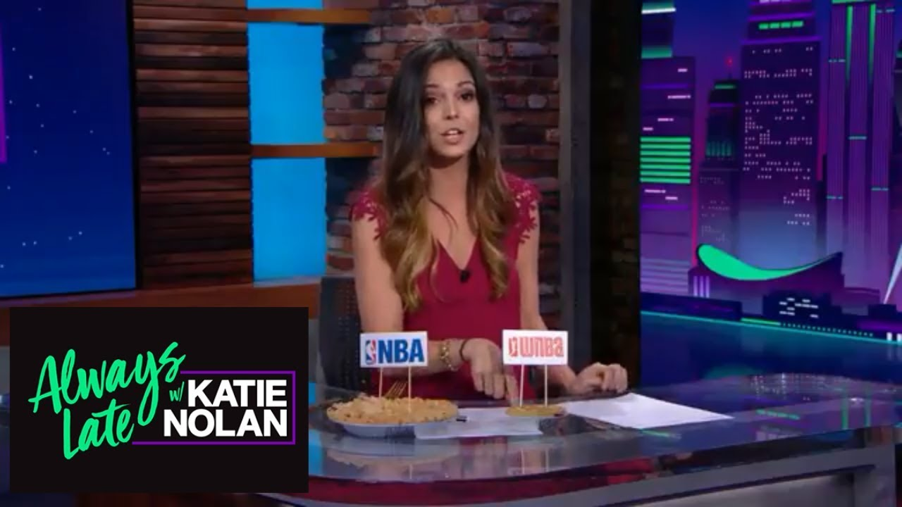 9e55f6fb1 Katie Nolan has issues with WNBA players not being paid enough | Always Late  with Katie Nolan | ESPN