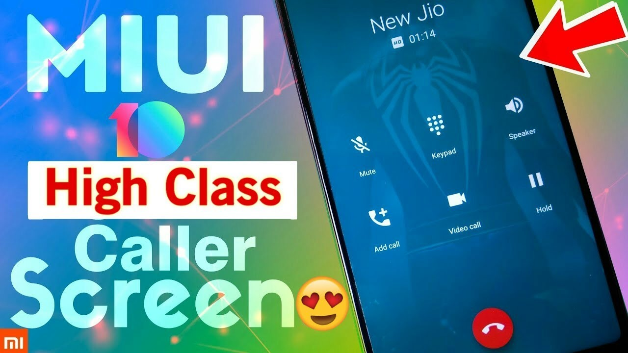 Change MIUI 10 Incoming/Outgoing Call Screen ! NEW CALLER SCREEN MIUI 10 !  NO ROOT