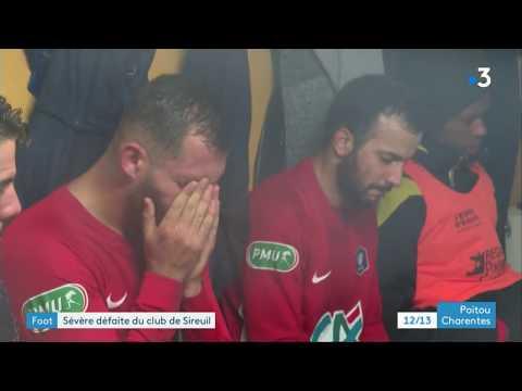 Le Petit Poucet Sireuil Sorti De La Coupe De France De Football