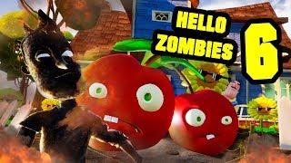 HELLO ZOMBIES 6 - Hello Neighbor Plants vs Zombies Mod