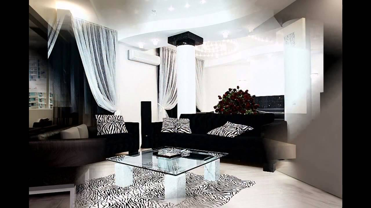 awesome black sofa living room ideas - youtube
