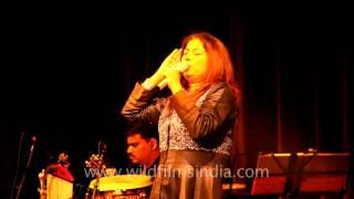 Rekha Bhardwaj sings Zikr a sufi song at the Writer