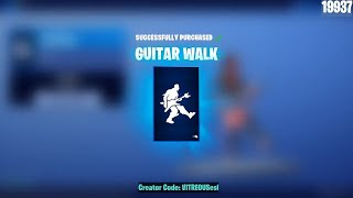 🔴 *NEW* GUITAR WALK Emote! CRITERION, OBLIVION, POWER Chord Skins are BACK! June 10th Fortnite Shop