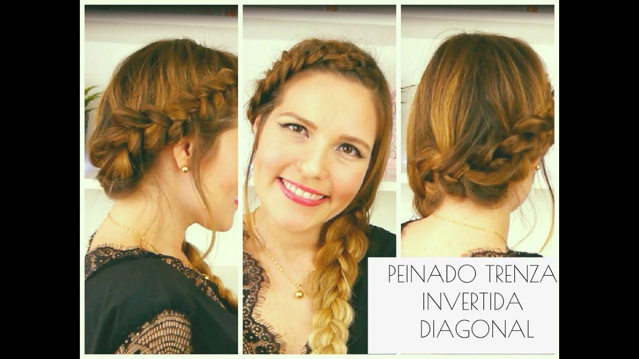 Tutorial de peinado de trenza holandesa diagonal youtube - Tutorial de peinados ...