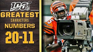 100 Greatest Characters: Numbers 20-11 | NFL 100